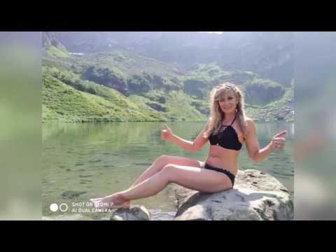 Купание в горном озере Мзы на высоте 2000м Ольга Соколова