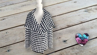 Cardigan Style Chanel toutes tailles Lidia Crochet Tricot