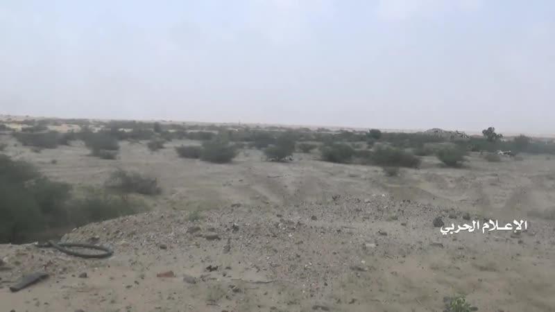Последствия неудачного штурма города Харад хадистами Провинция Хаджа