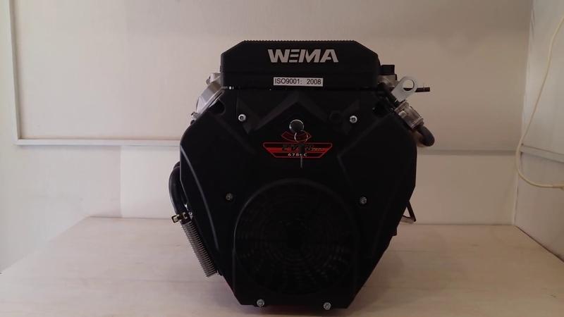 Двухцилиндровый бензиновый двигатель 20 л с Weima WM2V78F