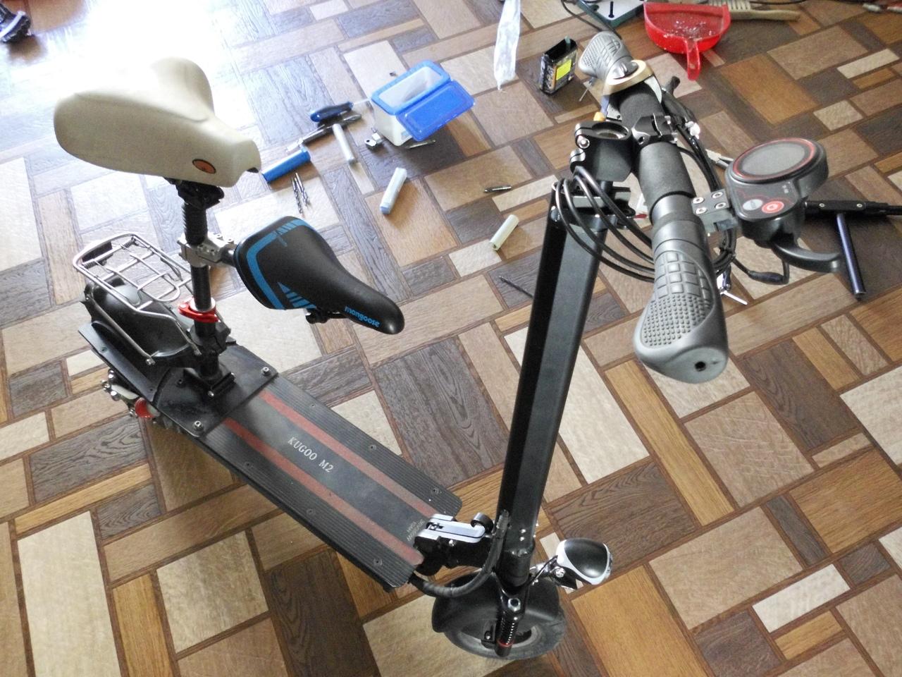Механические доработки, неисправности и ремонт электросамокатов