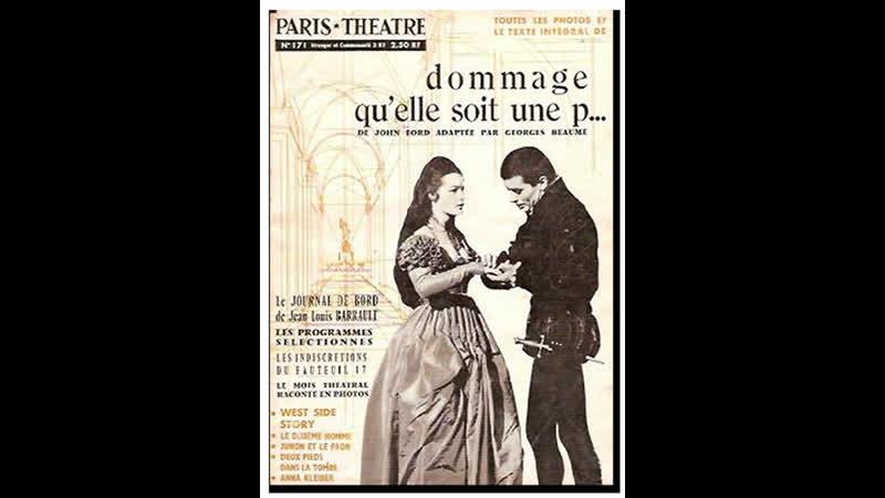 Жаль, что она блудница _ Dommage quelle soit une putain (1961) Франция