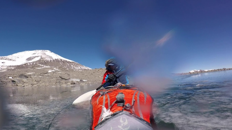 Daniel Bull World's Highest Kayak Record Ojos de Salado Chile 2018