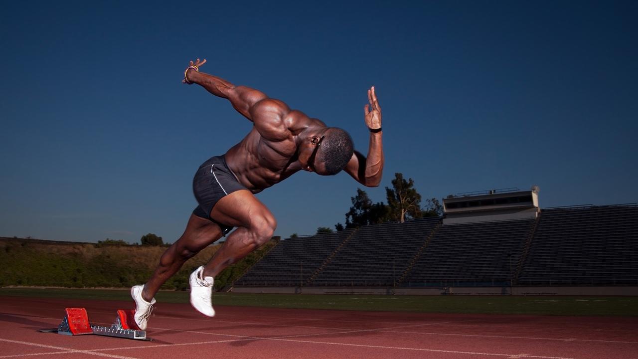 Картинки спортсмены бег