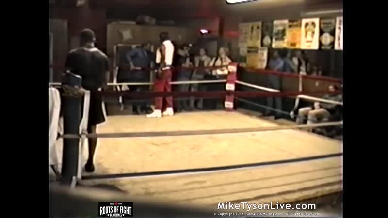 Mike Tyson Spars Puncher Jesse Ferguson