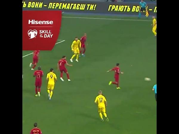 UEFA Skill of the day - Ярмоленко. Матч Португалия - Украина