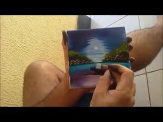 Маленькая картина на скорую руку vfktymrfz rfhnbyf yf crjhe. here