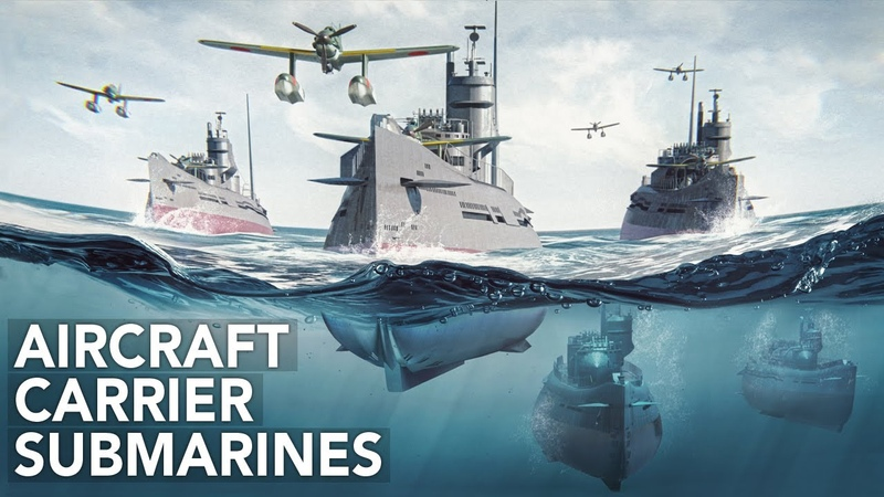 Underwater Aircraft Carriers Imperial Japan's Secret Weapon