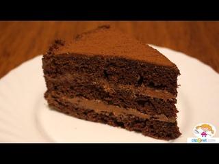 Шоколадный торт для любителей вкусных десертов.