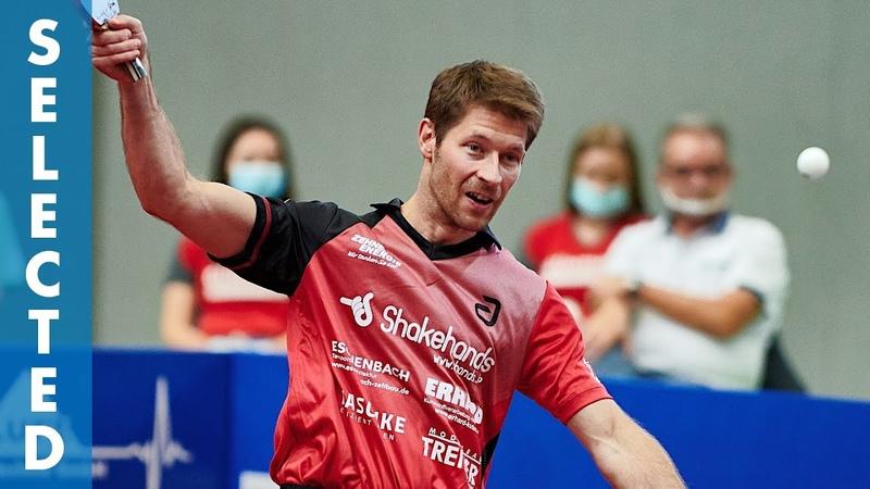 Bastian Steger vs Timo Boll TTBL Selected