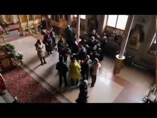 Драка священников ПЦУ в одесском храме