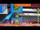 Paslanmaz Metal Kesim Duvar Saati Modelleri Fiber Lazer Kesim makinesi Metal Sheet Cutting Machine