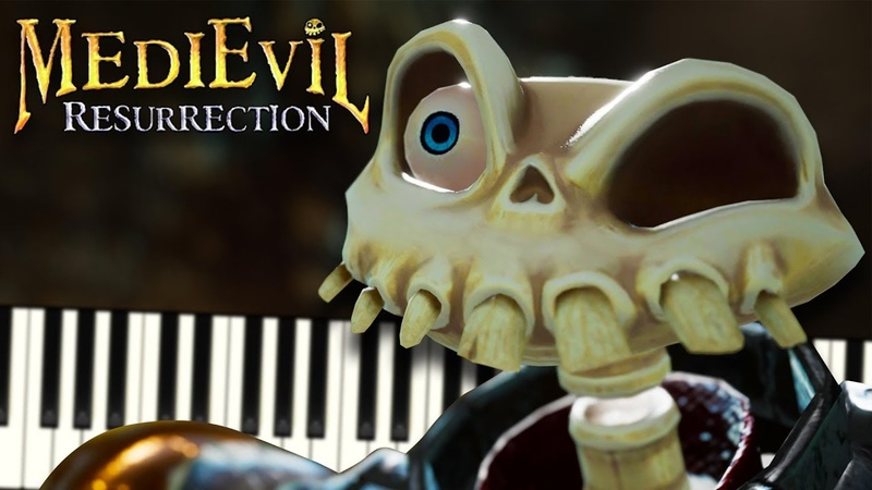 Hilltop Mausoleum (from MediEvil) - Piano Tutorial