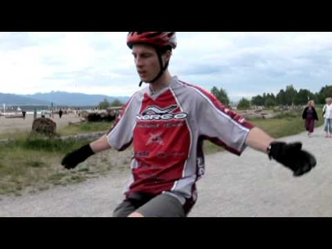 Unicycling with Kris Holm
