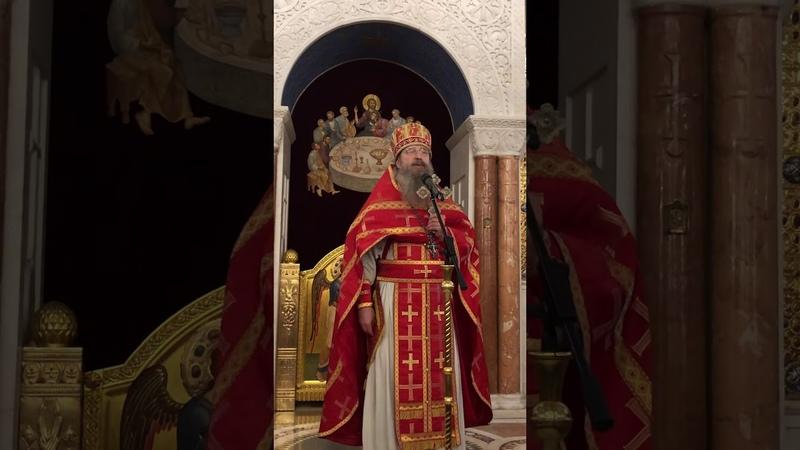 Слово архимандрита Мелхиседека /Артюхина/ в день празднования Собора Архистратига Божия Михаила