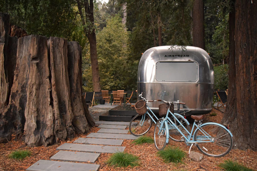 Arty Airstream Accommodations at AutoCamp by Dan Weber Architecture