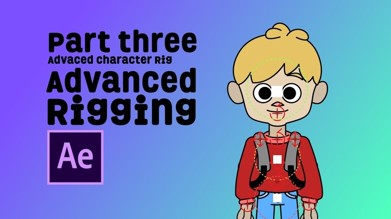 After Effects Tutorial Part 3 - Character Rig | Joysticks n sliders - Backwoods Animation Studio