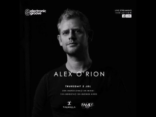 Alex O'Rion - Isolation Stream for Valhalla, Family Group Rosario, Electronic Groove - 02-07-2020