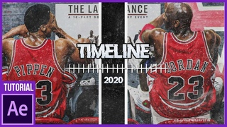Animated Timeline from Last Dance After Effects Tutorial