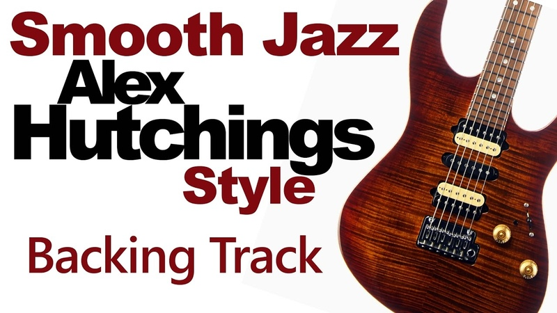 Smooth Jazz Alex Hutchings Style Guitar Jamtrack Gminor Highest Quality