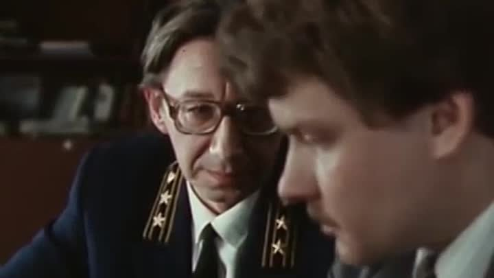 Советский детектив драма Воскресенье половина седьмого