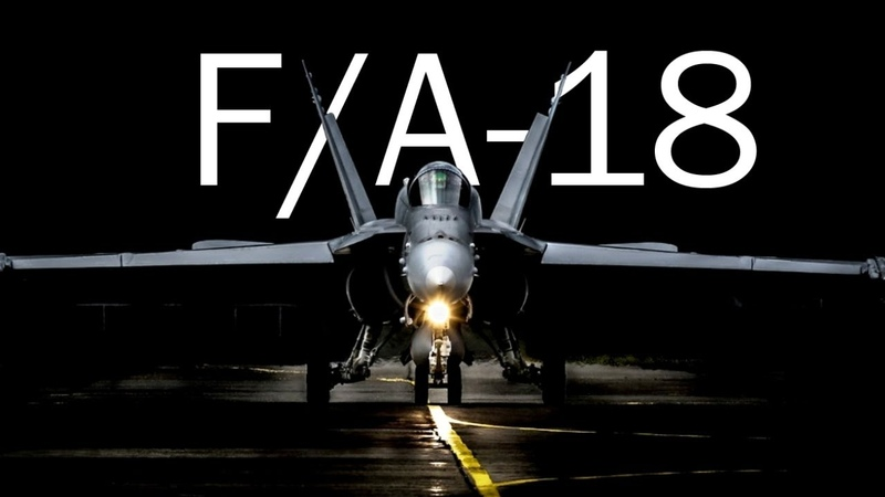 F A 18 Hornet for the carrier