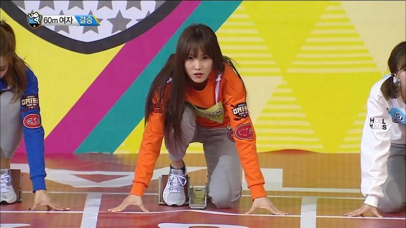 TVPP YuJu GFRIEND W 60m Final Gold Medal! 유주 여자친구 여자 60m 결승 금메달 @2016 Idol Star Championship