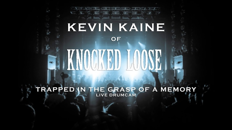 Kevin Kaine of Knocked Loose Trapped in the Grasp of a Memory Live Drumcam SJC Custom Drums