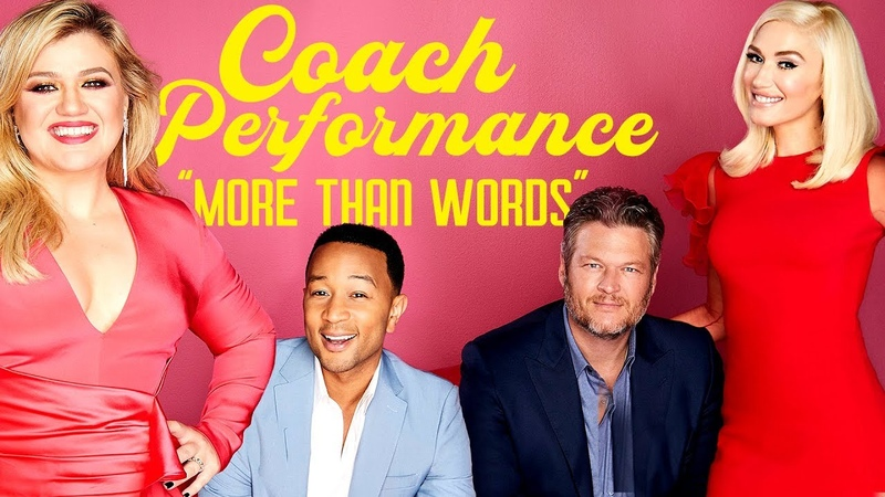 The Voice Coaches Join Together for an Intimate Performance (Digital Exclusive)