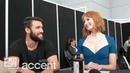 NYCC 2018 LORE Stars Josh Bowman and Alicia Witt tease their S2 episode