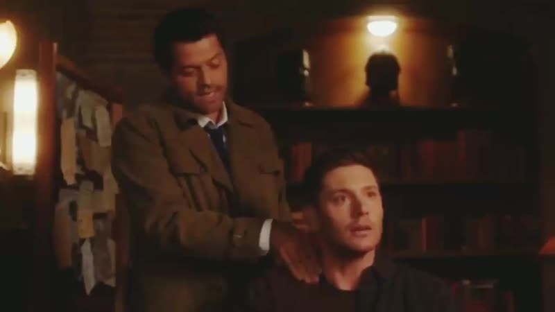 😇 Misha's funny voice and accent from SPN s14 gag reel 😂