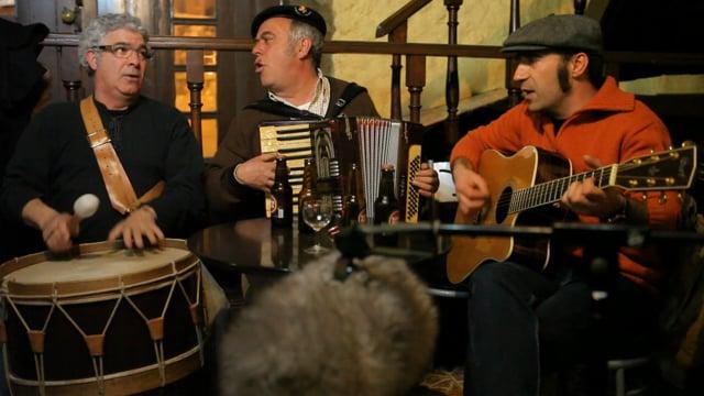 Paulo Meirinhos, Garcia e Tó Zé - Primavera