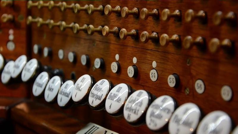 Max Reger - Sechs Trios - Gigue, op. 47, nr 2. Maciej Bator - organy Kościoła Pokoju w Świdnicy
