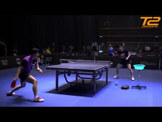 Ma Long and Fan Zhendong Training | T2 Diamond 2019