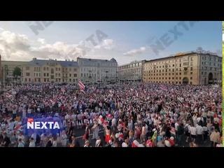 Прекрасный город свободных людей! Ещё кусочек Минска вам.