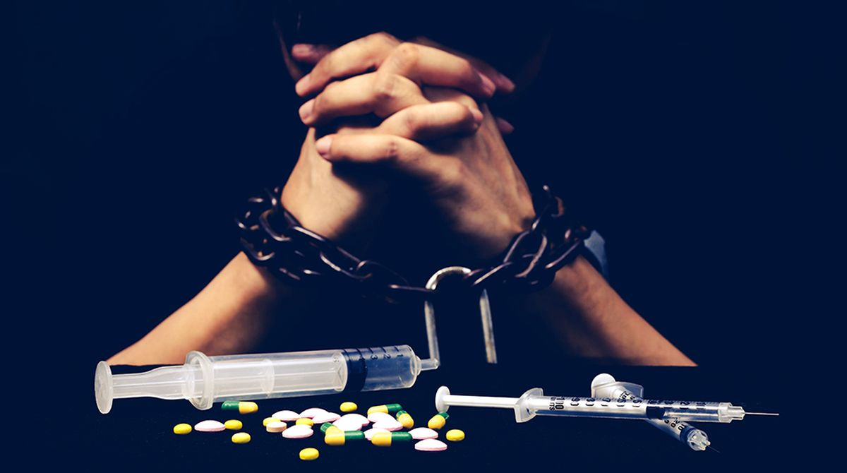 Признаки наркомании.