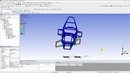 ANSYS Mechanical Student Formula SAE Chassis Analysis Part 4 Boundary Conditions and Solving