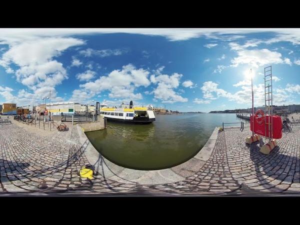 Хельсинки 360° время пандемии паром на Суоменлинна 8K 360VR