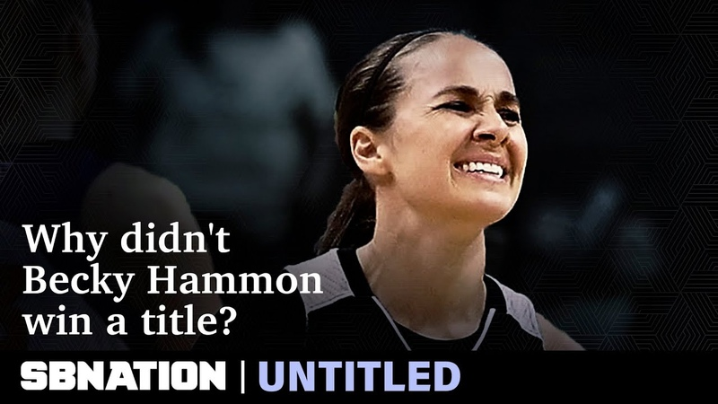 Becky Hammon never won a WNBA title Here's what left her empty handed