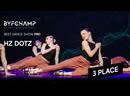 Best Dance Show Pro 3rd Place Hz Dotz