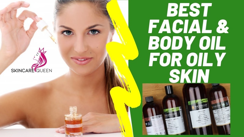 Best Face Body Carrier Oils For Oily Skin Absorption Rate Of Grapeseed, Rosehip, Almond Apricot