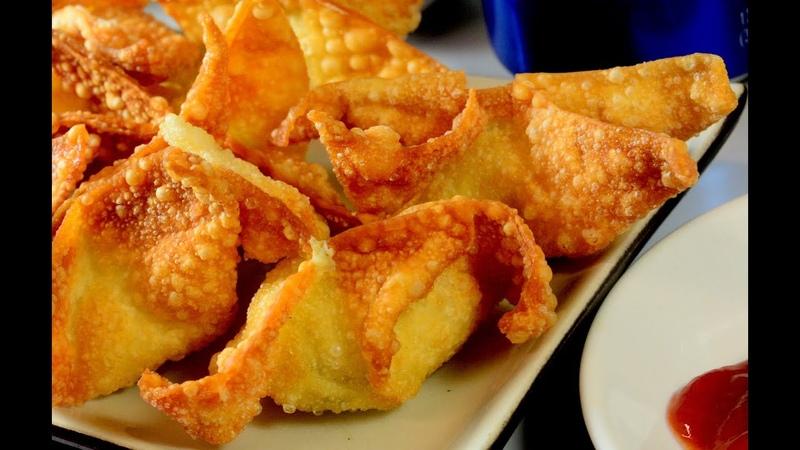 Dim Sum Fried Crispy Cream Cheese Wonton