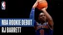 RJ Barrett Stars On Both Ends of the Floor 2019 NBA Preseason