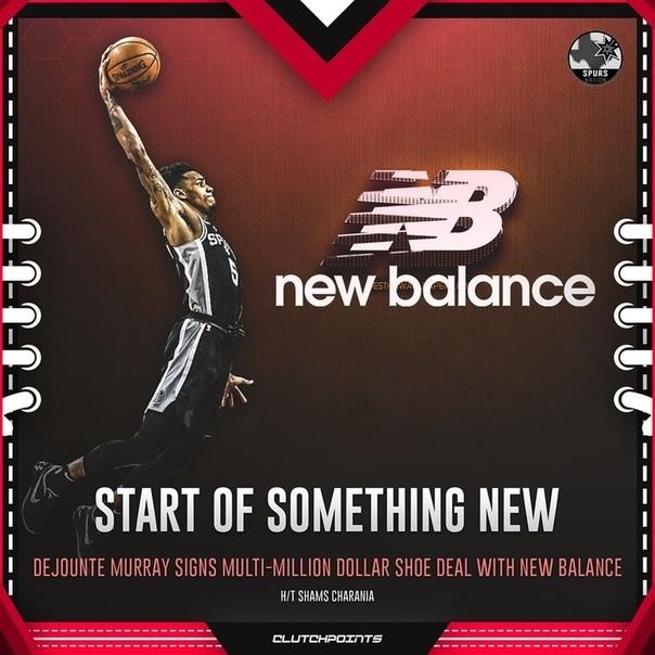Деджонте Мюррэй заключил соглашение с New Balance