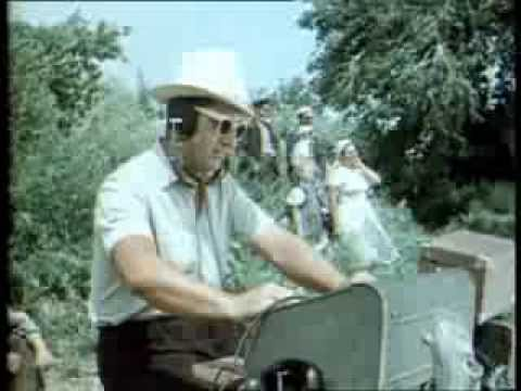 Пётр Тимофеев на съёмках Тихий Дон 1957