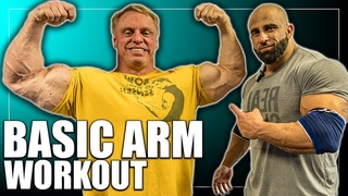 Basic Arm Workout for MASS John Meadows Fouad Abiad