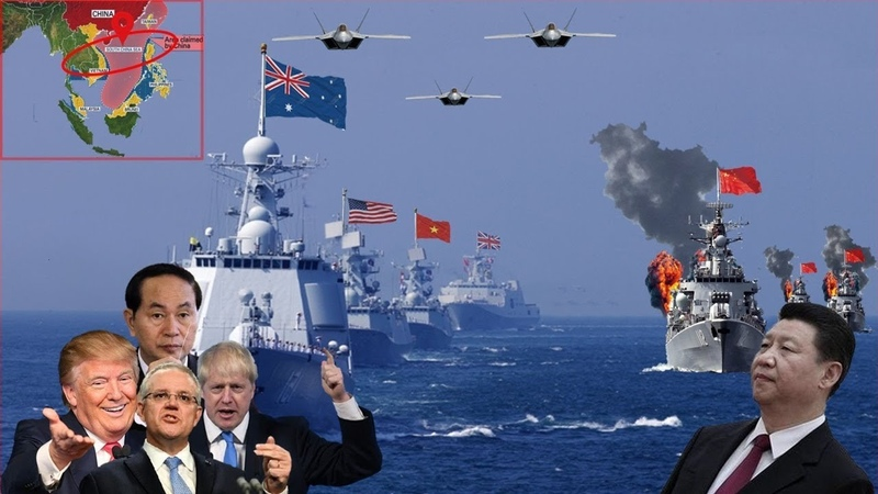 China Panic Australian Vietnam Joins EUROPE Stopping China triggering Problems in SCS