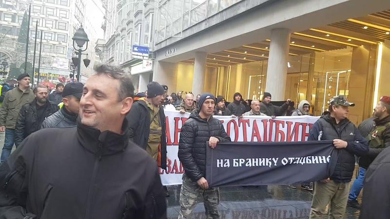 Tresao se centar Beograda veterani poslali snažnu poruku Vučiću