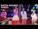 Alexa, Kyla, Precious Rhaizen - ABC   Battle Rounds   The Voice Kids Philippines Season 4 2019