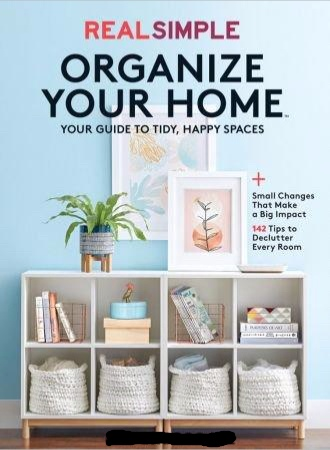 Real Simple Organize Your Home 2019